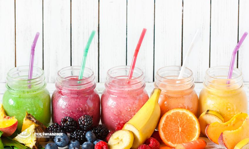 Owocowe smoothie - przepisy