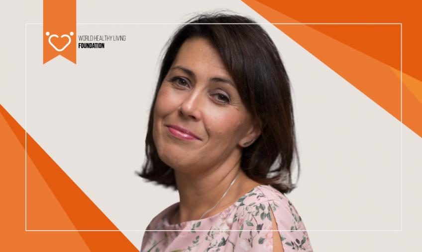 Wywiad z  Dorotą Łapa - Ambasadorem Fundacji World Healthy Living Foundation